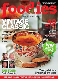 Foodies Magazine December 2012