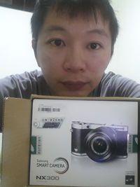 SAMSUNG NX300 20-50mm【白】,得標價格2329元,最後贏家有媽的孩子像個寶: 超幸運~隨便點@@~就中了
