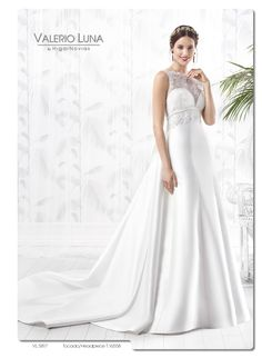 f284350901 Vestido de novia de Valerio Luna para Higar Novias. Colección 2016