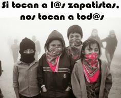 "Actividades de la Semana Nacional e Internacional de Solidaridad con l@s Zapatistas: ""Si tocan a l@s Zapatistas, nos tocan a tod@s"""