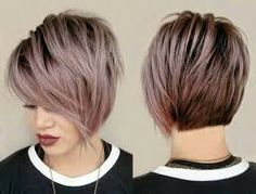 Image result for long pixie bangs front and back