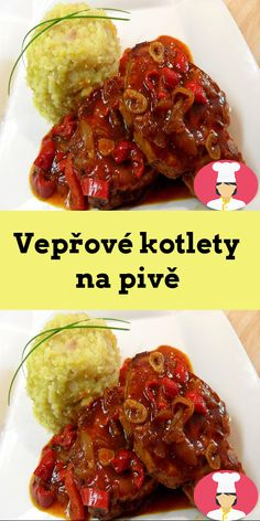 Veprové kotlety na pive Ethnic Recipes, Food, Essen, Meals, Yemek, Eten