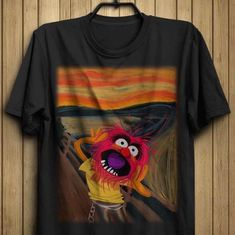 Scream, Le Cri, My Style, Mens Tops, T Shirt, How To Wear, Clothes, Google, Fashion