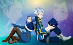 Lyon and Juvia♡ -Fairy Tail this is so cute!!!- Usually ship Gruvia, but this is just to cute! ♥