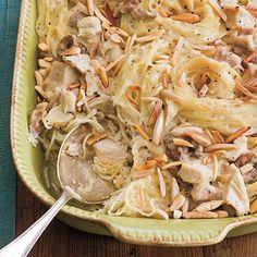 Classic Chicken Tetrazzini Recipe   MyRecipes