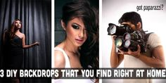 3 (+1) DIY Backdrops That You Find Right At Home - DIY Photography