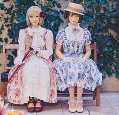 Classic lolita, victorian, well dressed ladies