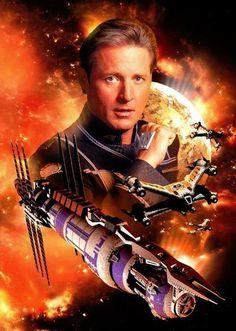 Sheridan/Babylon 5 by scifiman on DeviantArt - tiara Fantasy Movies, Sci Fi Movies, Sci Fi Fantasy, Sci Fi Tv Series, Sci Fi Tv Shows, Babylon 5, Futuristic Motorcycle, Best Sci Fi, Sci Fi Ships