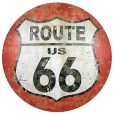 Antique Replica Tin Metal Sign Route 66 Vintage Texas Tx rd highway road US 176
