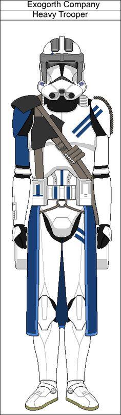 Exogorth Company Heavy Trooper by PieJaDak