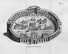 Naumachiae, Naval Battles in the Roman Colosseum