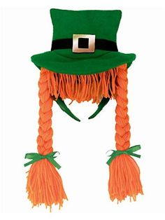 St. Patrick's Day Braided Headband « Holiday Adds
