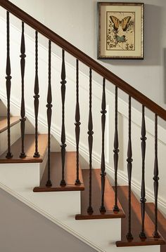 New unique indoor wood stairs design ideas you never seen before 1 Stair Railing Ideas design ideas Indoor Stairs Unique Wood Railing Design, Staircase Design, Staircase Interior Design, Wrought Iron Stairs, Indoor Stair Railing, House Designs Exterior, Iron Balusters, Stairs, Handrail Design