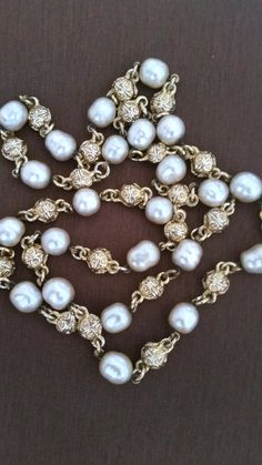 Vintage pearls, vintage necklace, vintage jewelry, pearls, women's accessories, jewelry, holiday gifts, 1940's jewelry, 1950's jewelry, by Passion4Retro on Etsy
