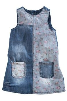 Buy Ditsy Print Denim Dress (3mths-6yrs) from the Next UK online shop