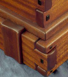 Greene and Greene Style Blanket Chest - Darrel Peart Furniture Maker
