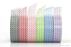 Small Dots Pattern Chinese rendition of washi tape (Chugoku =  Chinese) This paper tape is recommended for gift wrapping, packaging,  general decorative use, but I would not recommend it for things that  need archival quality. While in my opinion,Japanese Washi Tapeare higher quality, people have expressed interest in these for the pattern/colors that might not be available in the ones made in Japan. ...