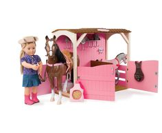 Saddle-Up Stables | Our Generation Dolls