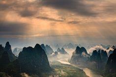 "Guilin, China  ""Guilin Scenery"" by Helminadia Ranford"