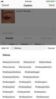 Fall Wedding Makeup, Best Bridal Makeup, Wedding Makeup Artist, Best Instagram Hashtags, Find Instagram, Instagram Hastags, Makeup Hashtags, Instagram Makeup Artist, Makeup News
