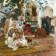 Frédérick Arthur Bridgman ,Peintre Américain (1847_1928). #algerie #algeria #alger #art #art #artwork #artofinstagram #paint #painting #oilpainting #الجزائر #الجزائر_المحمية_بالله #لوحات_فنية_جزائرية #لوحات_فنية