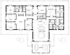 TOP BEAST Metal Building: Barndominium Floor Plans and Design Ideas for YOU! I just discovered barndominium floor plans / metal buildings that i think … best for :) 6 Bedroom House Plans, Barn House Plans, New House Plans, Dream House Plans, House Floor Plans, Floor Plan 4 Bedroom, The Plan, How To Plan, Metal Building Homes
