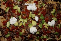 Simply Made...with Love: Skinny Loaded Nachos
