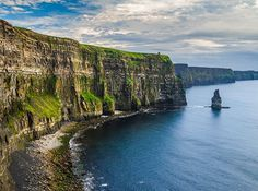Cliffs of Moher, Ireland These famous cliffs in County Clare have made several big-screen appearances in movies like Harry Potter and the Chamber of Secrets and The Princess Bride.