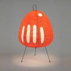 This Lamp from Noguchi is very cool. Get it at the Tortoise General Store. Home Lighting, Lighting Design, Design Japonais, Isamu Noguchi, Noguchi Lamp, Room Lamp, Decoration, Lamp Light, Light Fixtures