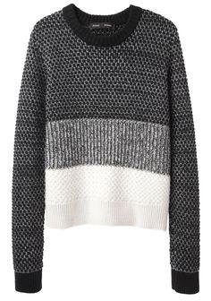 Proenza Schouler / Mixed Knit Pullover | La Garçonne
