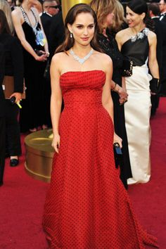 Classic Hollywood diamonds on the red carpet