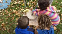 Some of our young experimental archaeologists trying out the quern What Is Life About, People Like, You And I, The Past, Crafts, You And Me, Manualidades, Tu Y Yo, Craft