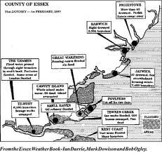 The great flood of 1953 in Essex
