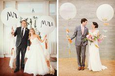 Globos gigantes para la boda con Globote
