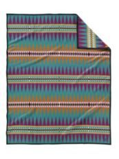 Pendleton Woolen Mills: Turquoise Trail Blanket Collection