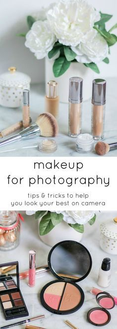 Makeup for everyday and makeup for photography aren't always the same thing. HD cameras pick up little detail and every tiny flaw in your makeup, but thankfully I've picked up a few tips from professional makeup artists that will help you look picture-perfect in front of the camera! Click through this pin to learn my favorite makeup tips for photography with @Crest! | by @ashleynicholas | Sponsored by #crest