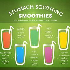 Smoothies for nausea!