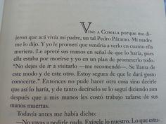Fragmento del libro Pedro Páramo de Juan Rulfo
