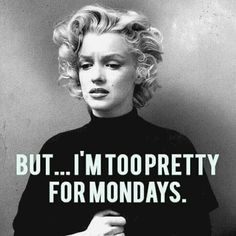 Hahaha, yes - Monday feels ! ★