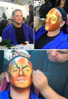 """maquillaje de Scar - musical el rey león - Maquillaje de """"El Rey León"""""""