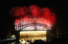 Sydney, Australia. Welcome 2015! New Year's Eve celebrations from around the world