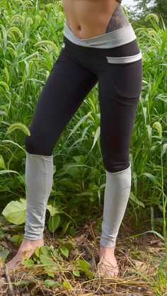 Eco pocket leggings in bamboo terry yoga pants $90.00