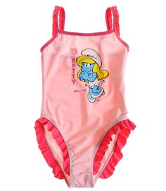 Elipcis   why pay more - Smurfs Swimsuit with Bows   Pink , £9.95 (http://www.elipcis.com/smurfs-swimsuit-with-bows-pink/)