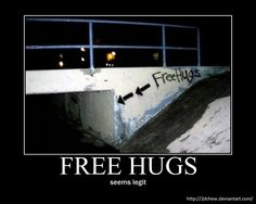 Free Hugs by 2DChew.deviantart.com on @deviantART