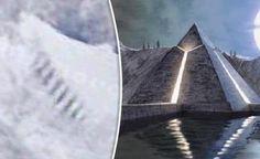 Só dá Estrondo: Escada Gigante descoberta na Antártida que eventualmente poderá ser parte de uma Pirâmide perdida da Atlântida,ou local de aterragem de naves extra-terrestres !