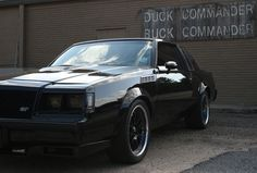 My 1986 Buick Grand National at (Duck Dynasty) Duck Commander's place.