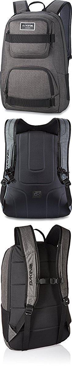 "Dakine Duel Backpack. Dakine - Duel 26L Backpack - Padded Laptop & iPad Sleeve - Insulated Cooler Pocket - Mesh Side Pockets - 19"" x 12"" x 9"" (Carbon).  #dakine #duel #backpack #dakineduel #duelbackpack"