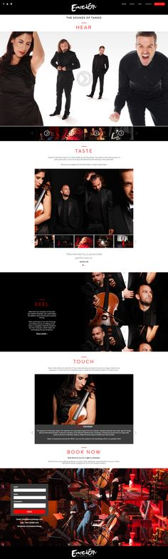 This is a fully functional, custom Wordpress theme developed by Jon Day, for Emocion Tango. The design was completed by another agency. This theme uses a lot of custom functions, jQuery, CSS3 transitions and more.