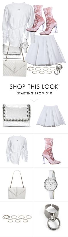 """""""NEW BLOGPOST ON VICTORIAINSPIRES.BLOGSPOT.COM"""" by victoriamk ❤ liked on Polyvore featuring STELLA McCARTNEY, Mademoiselle Tara, Yves Saint Laurent, Marc by Marc Jacobs, Akira and velvet"""