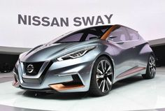 Nissan antecipa formas do novo March +http://brml.co/1zInJTT